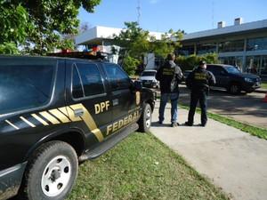 Policia federal argentinos impedidos (Foto: Divulgação/Polícia Federal)