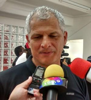 Técnico do Ituano, Fahel Júnior (Foto: Eric Mantuan)