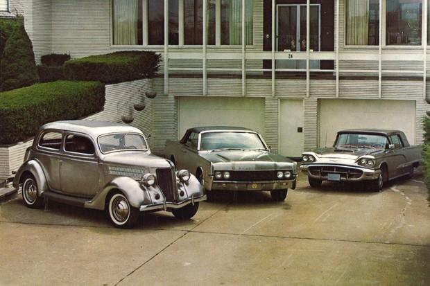 Outros Ford como o Thunderbird e Lincoln Continental também foram feitos em inox (Foto: Divulgação)