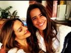 Irmã caçula de Cleo Pires posta foto ao lado da atriz