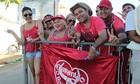 Torcedores acampam em fila para Festival (Marina Souza/G1 AM)