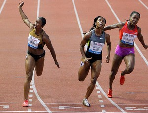 Carmelita Jeter, Atletismo, Sui&#231;a (Foto: Ag&#234;ncia Reuters)