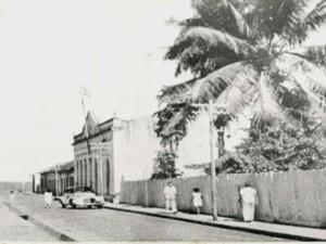 Prédio onde funciona o museu é o terceiro mais antigo de Macapá (Foto: Reprodução/TV Amapá)