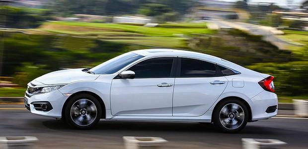 Novo Honda Civic Touring (Foto: Divulgação)