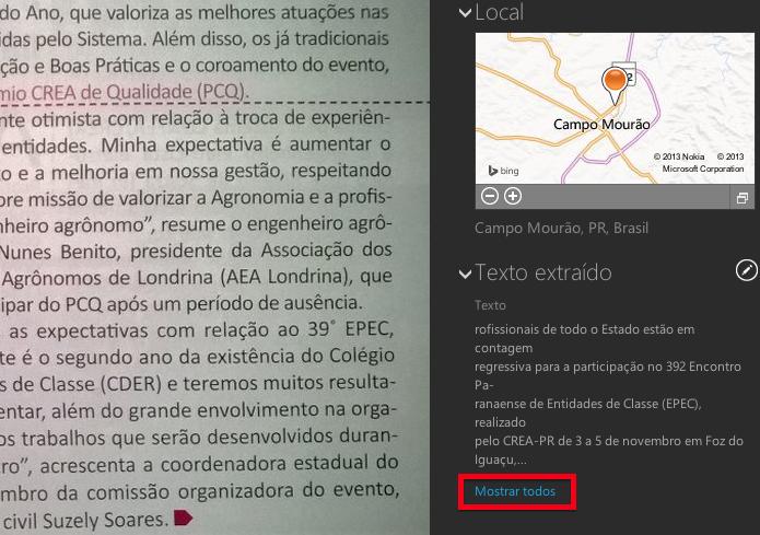 Texto extraído da imagem (Foto: Reprodução/Helito Bijora) (Foto: Texto extraído da imagem (Foto: Reprodução/Helito Bijora))