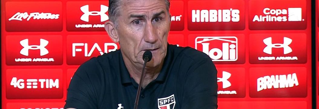 Assista à entrevista coletiva de Edgardo Bauza, técnico do São Paulo, nesta sexta-feira