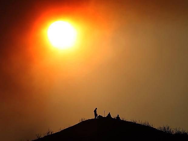 Mudanças climáticas podem alterar comportamento e agressividade, diz estudo (Foto: David McNew/Getty Images North America/Arquivo AFP)
