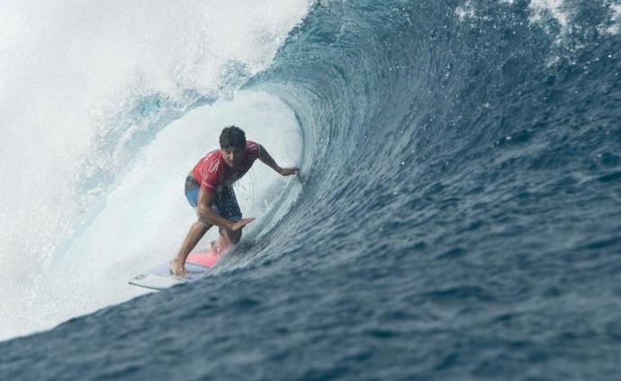 Italo Ferreira round 1 Teahupoo surfe (Foto: Divulgação/WSL)