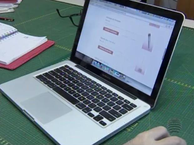 Vendas na internet têm maior alcance (Foto: Reprodução/TV Fronteira)
