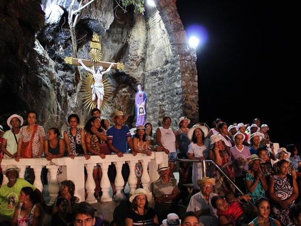 Romaria de Bom Jesus da Lapa atrai milhares de fiéis (Foto: Gisele Rocha/GOVBA)
