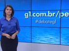 G1 realiza debate com os candidatos a prefeito de Jaboatão