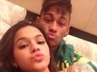 Neymar posa foto com Marquezine e manda recado: 'Aqui só existe o bem'