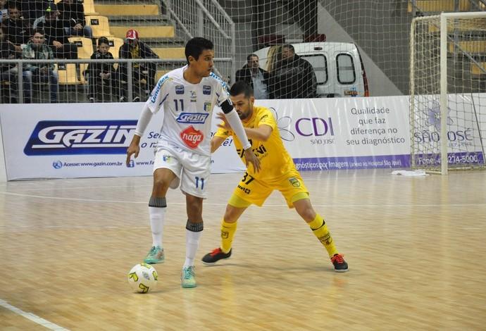 Jaraguá Umuarama Liga Nacional de Futsal (Foto: Bruno Vanço/AFSU)
