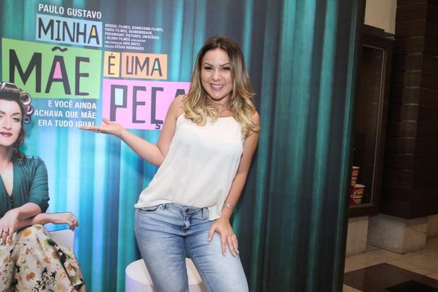 Ex-BBB Maria Claudia capricha no visual   (Foto: Thyago Andrade- Brazilnews)