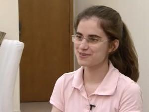 Jovem precisa de arrecadar R$ 116 mil para estudar nos Estados Unidos (Foto: Reprodução/TV Tribuna)