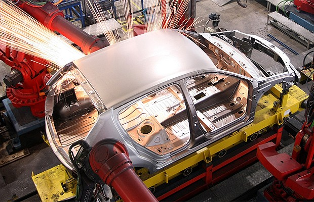 Renault Sandero fábrica (Foto: Renault)