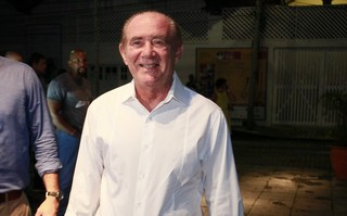 Renato Aragão na Retrospectiva Social da Globo (Foto: Isac Luz/EGO)