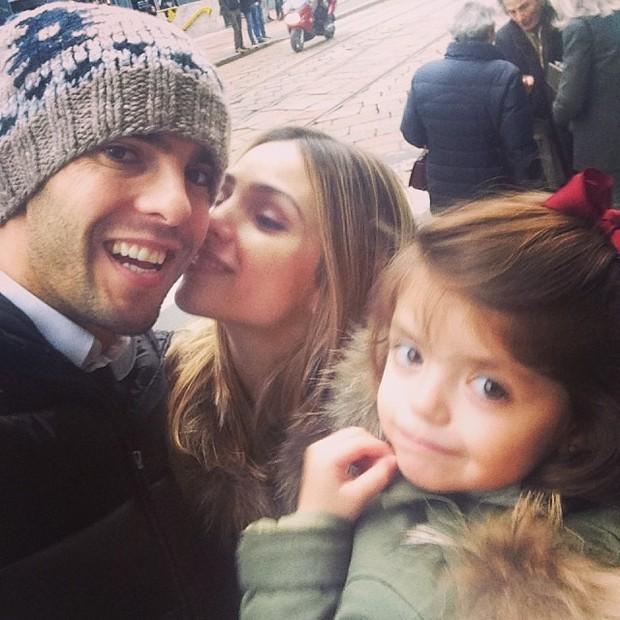 Carol Celico, Kaka e a filha (Foto: Reprodução/ Instagram)