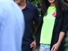 George Clooney aparece em clima de romance com a noiva