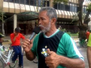 Manuel Soares, Macapá, Amapá, Moradores, perpétuo socorro, incêndio, protesto, (Foto: Fabiana Figueiredo/G1)