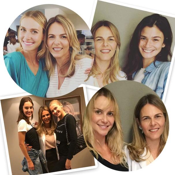 Modelos adeptas do Legacy, da clínica da Dra. Cris Coelho: Renata Kuerten, Carol Ribeiro, Celina Locks, Babi Berger (Foto: Instagram/Reprodução)