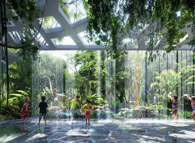 Rosemont Hotel & Residences será o primeiro hotel a contar com uma floresta particular (Foto: Reprodução/Plompmozes)