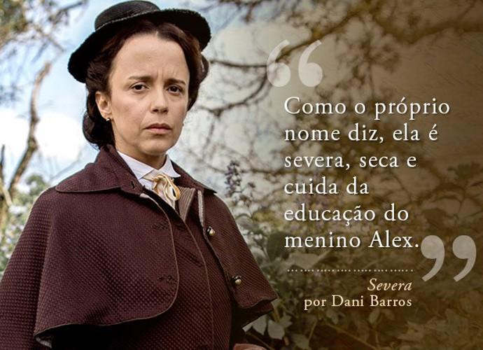 Severa (Dani Barros) (Foto: Gshow)