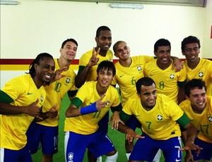 Neymar comemora título do Superclássico com a Seleção (Foto: Reprodução  / Instagram)