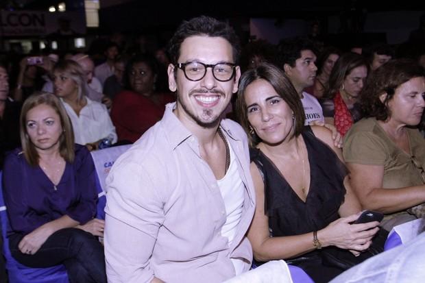 Glória Pires e João Vicente de Castro (Foto: Marcos Ferreira/ EGO)
