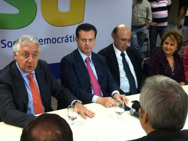 PSD lança pré-candidatura de Kassab ao governo de São Paulo (Foto: Marcelo Mora/G1)