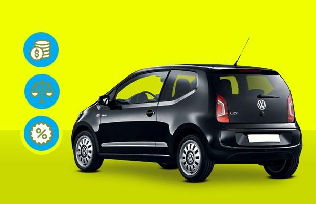Que carro eu compro: Volkswagen up! TSI (Foto: Divulgação)