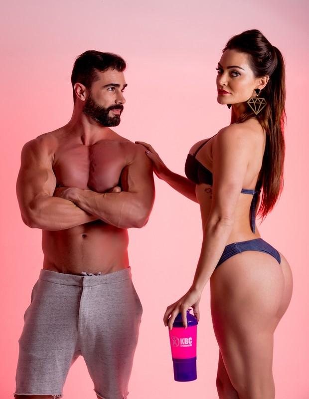 Laura Keller e Jorge Sousa (Foto: Bruno Romão / R2assessoria/Divulgação)