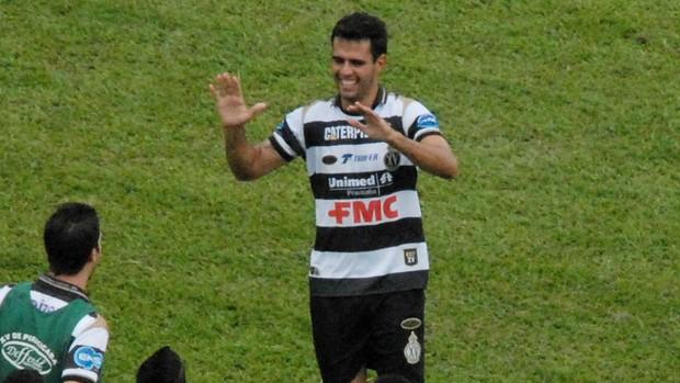 Luiz Eduardo, zagueiro do XV de Piracicaba (Foto: Eduardo Castellari / XV de Piracicaba)