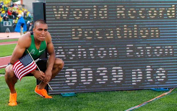 Ashton Eaton, Atletismo (Foto: Agência Reuters)