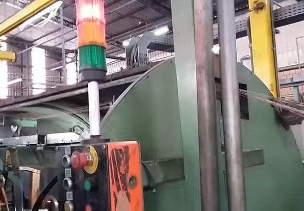 Fábrica da Brascopper (Foto: Reprodução/YouTube)