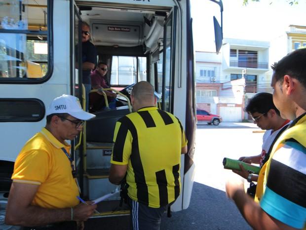 Rotas especiais vão funcionar em dias dos jogos da Olimpíada na Arena (Foto: Karla Vieira/Semcom)