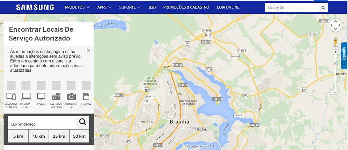 Assistência técnica da Samsung é boa no Brasil (Foto: Reprodução/Thiago Barros)