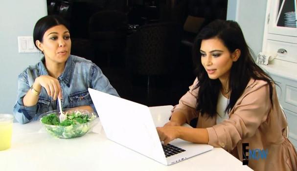 Kourtney Kardashian não come laticínios ou alimentos com glúten (Foto: Reprodução)