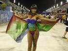 Confira as musas que brilharam no primeiro dia de desfiles do Rio