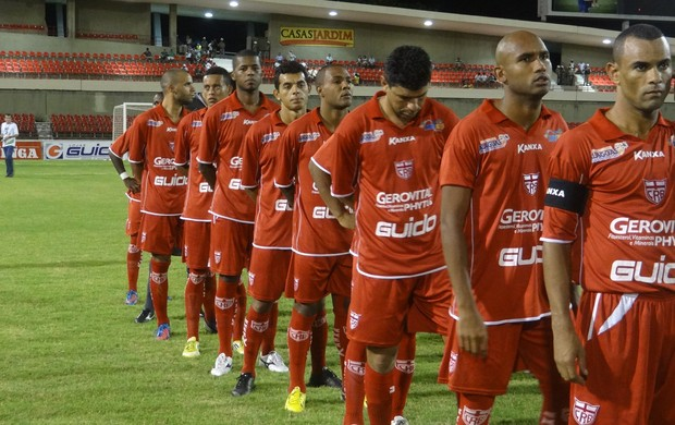 CRB massacrou o CEO por 6 a 0 no Rei Pelé (Foto: Caio Lorena / Globoesporte.com)