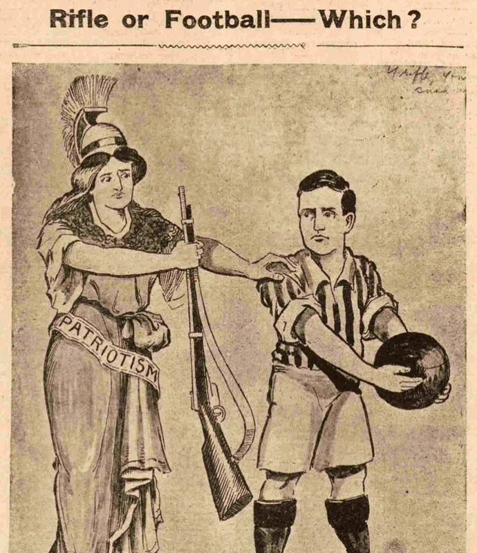 Exeter Gazette jornal primeira guerra (Foto: Reprodução)