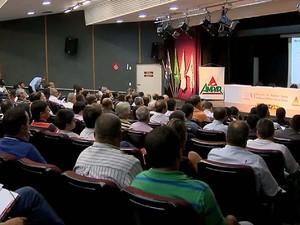 5° Encontro de Prefeitos Eleitos acontece nesta terça-feira (25) (Foto: Reprodução/TV Integração)