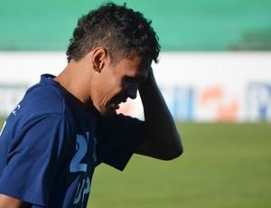 Fabinho, atacante do Guarani (Foto: Bernardo Medeiros/ Globoesporte.com)