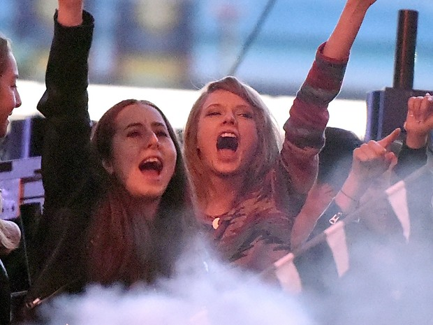 Alana Haim e Taylor Swift (Foto: Kevin Winter/Getty Images Entertainment)