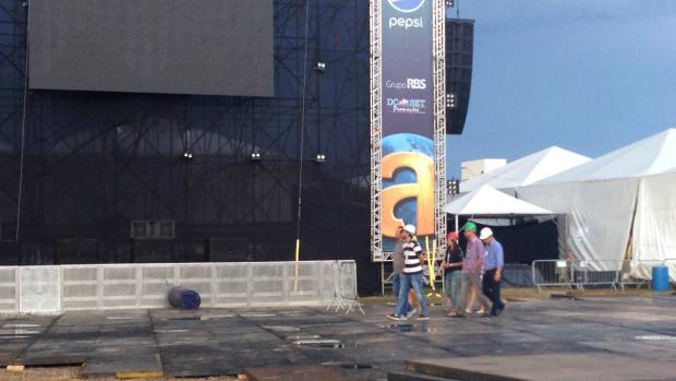 GSHOW - Planeta Atlântida utiliza aparelhos de segurança da Copa ... - Globo.com