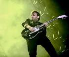 Black Keys faz show energético (Raul Zito/G1)