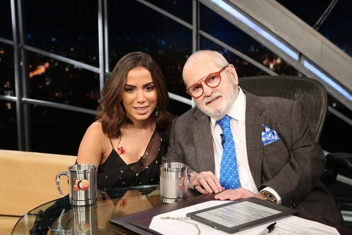 Anitta é a convidada de hoje do 'Programa do Jô' (Foto: Carol Caminha/Gshow)
