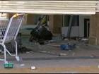 Bandidos invadem shopping no Cabo e arrombam caixas eletrônicos