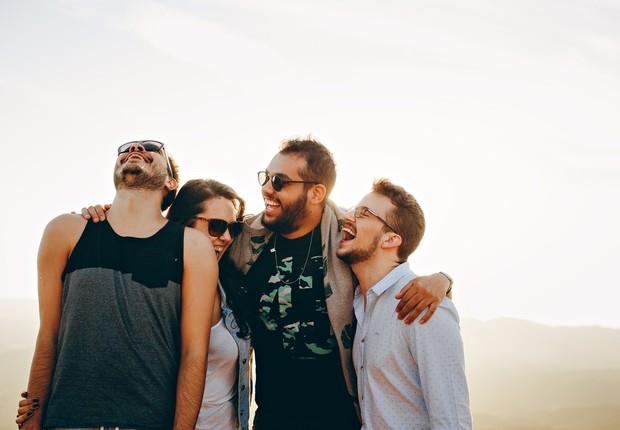 amigos, amizade, jovens, felicidade (Foto: Pexels)