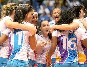 Vôlei Futuro Superliga Rio de Janeiro comemoração (Foto: Maurício Val / Vipcomm)